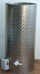 2. ~ 100 kg-os, ~ 70 L-es duplafalú fűthető rozsdamentes méztartály