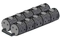 8.2 UNITANK - 25 m3-es szennyvíz gyűjtő tartályrendszer