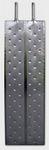 2.1. Rozsdamentes acél hűtő - fűtő panel, RHP 500