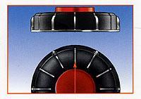 1. IBC tartály felső zárótető DN 150 mm - használt