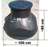 6.3. DN 1000/850  alacsony akna, lépésálló tetővel
