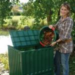 600 literes G. ECO műanyag komposztáló berendezés