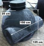 7.2.  DN 1500 -as akna, lépésálló tetővel