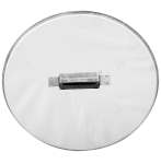 465 mm Inox - KO - rozsdamentes - paraffinos úszó fedél
