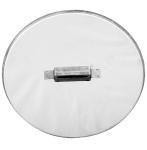 310 mm Inox - KO - rozsdamentes - paraffinos úszó fedél