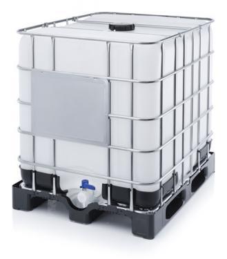 2. <> Felújított, IBC, ADR / UN, 1000 L-es tartály / konténer