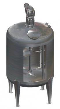 3000 literes álló hengeres keverő - ajánlat