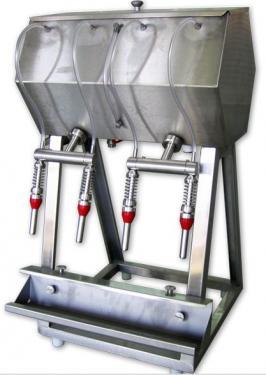 2. Asztali, 4 fejes palackozó gép