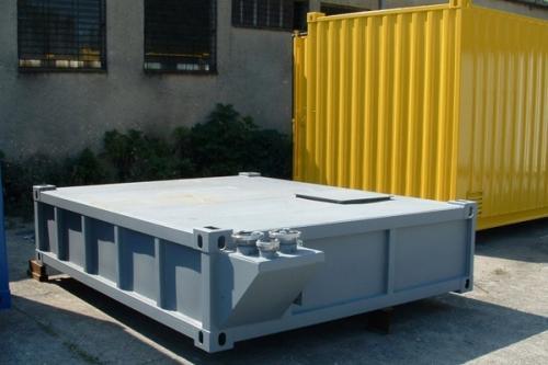 20 lábas szenny vízgyűjtő tartály - konténer alá - 10 m3