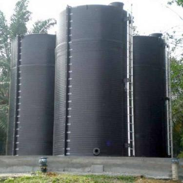 1. 25 m3-es folyékony műtrágya / Nitrosol tároló tartály - MŰANYAG
