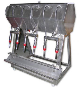3. <> 6 fejes asztali palackozó gép