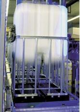 8. - Használt, tiszta IBC ballon, 1000 liter