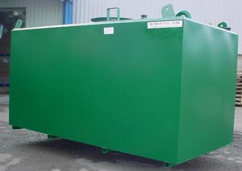6. 5 m3-es szögletes acél szállító tartály