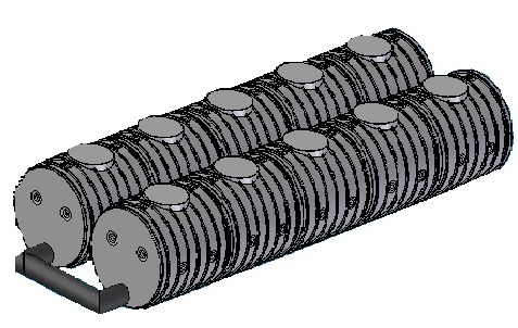 8.3 <> UNITANK - 25 m3-es esővízgyűjtő tartályrendszer