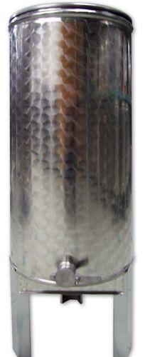 4.1 ~ 100 kg méztartály rozsdamentes acél mézcsappal, tetővel