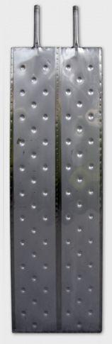 2.4. <> RHP 1250 Rozsdamentes acél hűtő - fűtő panel