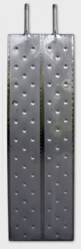2.5. <> RHP 1500 Rozsdamentes acél hűtő - fűtő panel