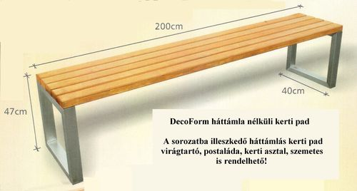 3. Kerti pad  - DecoForm