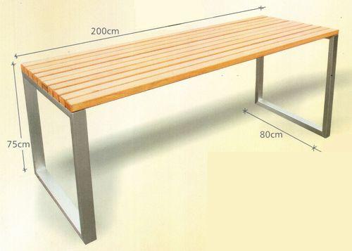 1. Kerti asztal - DecoForm