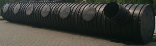 8.2. <> UNITANK - 17,5 m3 -es műanyag esővíz gyűjtő tartály, lépésálló tetővel