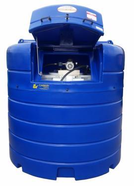 1. AdBlue tároló és adagoló tartály, 2500 literes