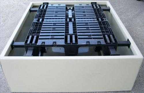 1. <> Kármentő, 1 palettás - 1000 L-es IBC tartályhoz