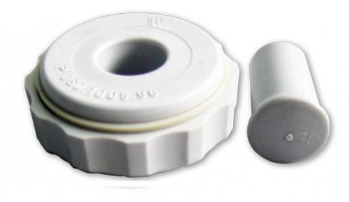 Műanyag csatlakozó d=80-as kotyogóhoz - 5/4-80