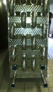 4. <> Rozsdamentes cső a csőben hőcserélő - ajánlat