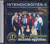 4D Mahanaim Istendicsőítés 4. CD