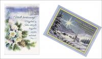 Képeslap / Elek karácsonyi borítékos