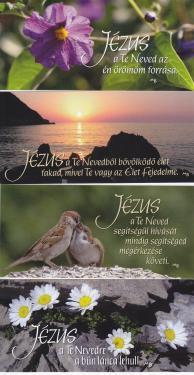 Könyvjelző Basilea Schlink - Jézus neve sorozat