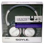 Fejhallgató mikrofonnal Extra bass Soyle