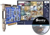 Sentry 2016 digitális PC képrögzítő kártya