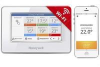 Honeywell Evocolor érintőképernyős WIFI-s rádiófrekvenciás zónavezérlő (ATC928G3026)