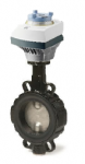 Siemens VKF46.50+SAL31.00T20 motoros pillangószelep DN40 230V 3-pont