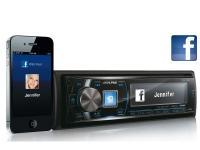 Alpine CDE-175R CD-s autórádió Bluetooth-al és iPod vezérléssel