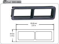 33030069 Renault Clio dupla univerzális ablakmelő kapcsolókeret