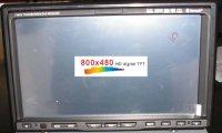 BSX-3868 II Din Univerzális multmédia egység Navigációval