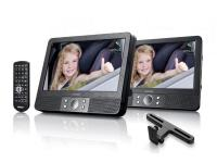 Lenco MES-405 2 x 9 colos multimédiás DVD játszó autós szettel
