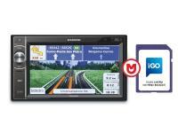 Macrom M-DL5000 2 DIN multimédiás készülék IGO PRIMO navigációval DVD mechanika nélkül