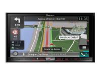 Pioneer AVIC-F80DAB High-end navigációs AV rendszer CD-DVD-DAB