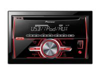Pioneer FH-460UI 2-DIN RDS-tuner CD, USB és iPod- iPhone Direct Contro