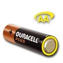 Duracell PLUS ceruza(AA) elem fóliás