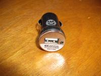 Szivargyújtó csatlakozó USB töltős