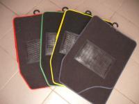 Szövet szőnyeg garnitúra, színes szegéllyel