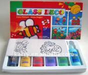 Glass Deco - üvegfesték készlet