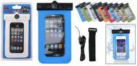 """Univerzális vízálló telefon tok  (iPhone 6, Galaxy, stb) 5""""-ig"""