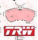 Citroen C2, C3 első TRW, Lucas fékbetét garnitúra!