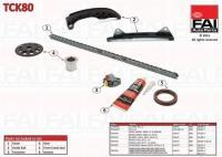 Citroen C1 1.0, Peugeot 107 1.0 vezérműlánc készlet tck80