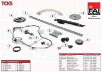 Fiat Croma  2.2 16V vezérműlánc készlet tck5